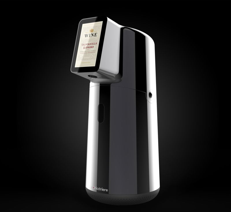 Albicchiere Smart Wine Preserver and Dispenser Funding at Kickstarter Now