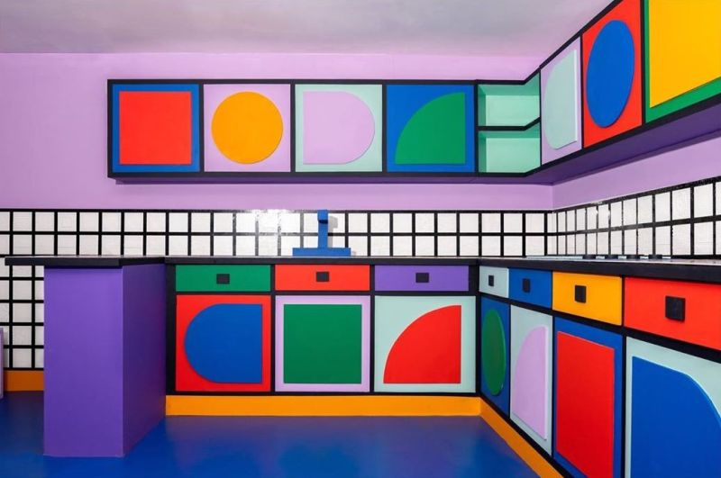 Camille Walala Designs Life-Sized House from 2M LEGO Tiles