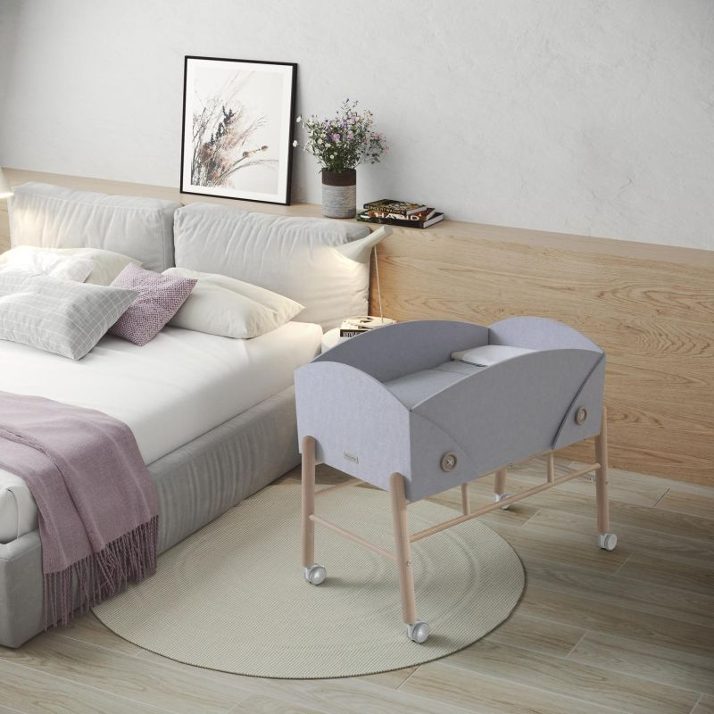 Cocoto Crib Designed by Ximo Roca for Micuna is Made of Recycled Materials