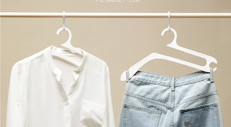 Collabospace Creates Hurdle Hanger to Organize Your Clothes within Seconds