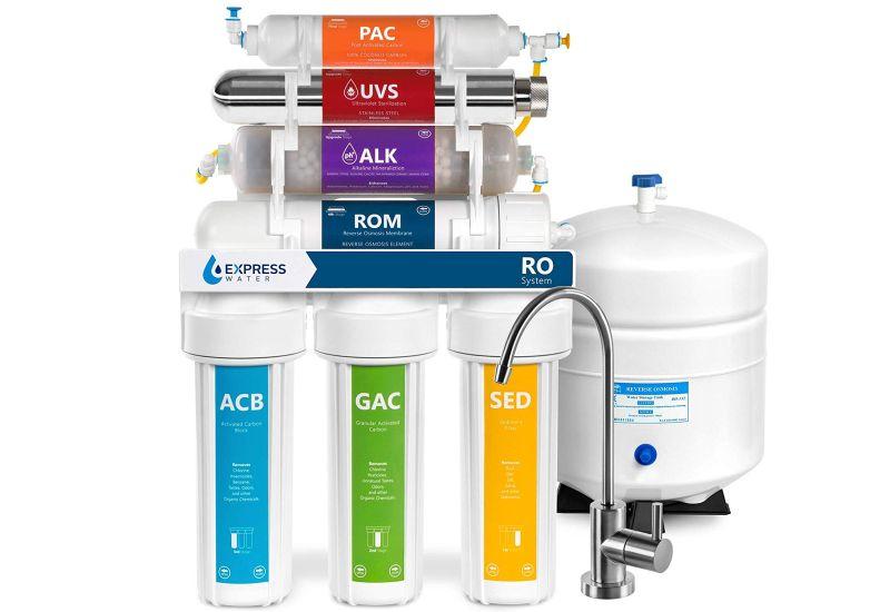 Express Water ROALKUV10M RO water filter system