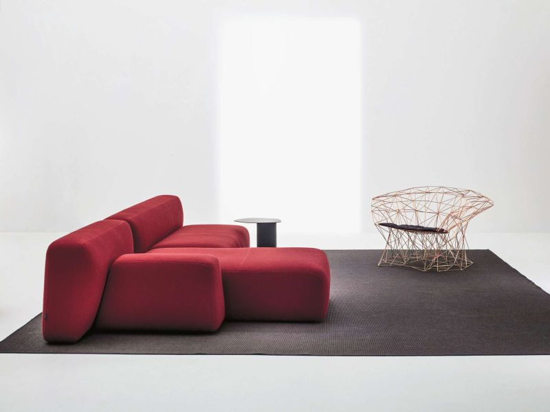 Filinea armchair by Antonino Sciortino