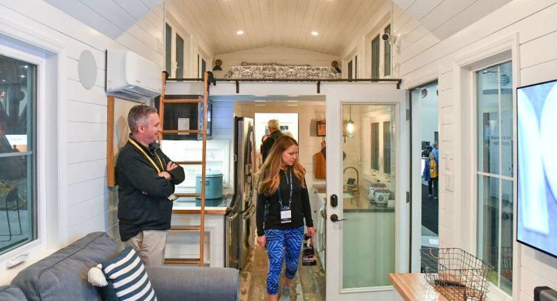 Perch & Nest Builds Smart Tiny House for Nationwide Marketing Group