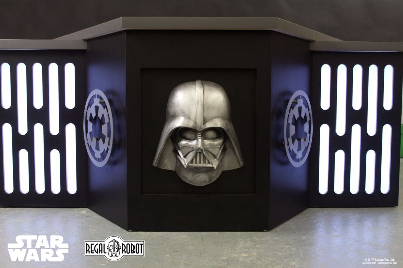 Regal Robot Custom-Builds Imperial-Themed Desk for a Star Wars Fan