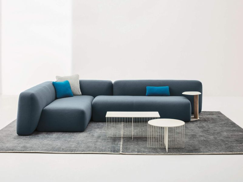 Suiseki modular seating system by Andrea Steidl