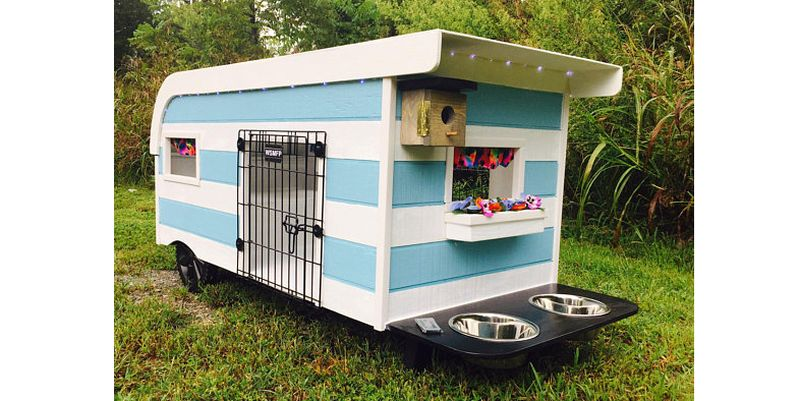 These Miniature Pet Campers by Steve Johnson are for Real