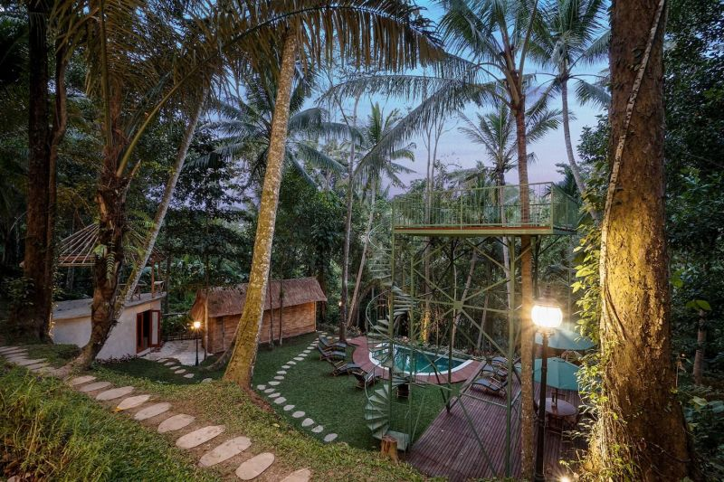 Unwind At Lift Bali Treehouse Hotel You Can Rent For 60 On Airbnb
