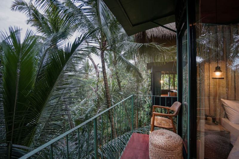This Treehouse at Lift Bali can be Rented for $60 at Airbnb