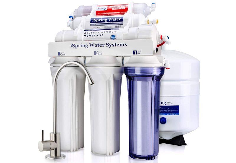 iSpring RCC7AK RO water filter system