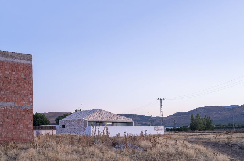 Casa Calixto: This Unique Nature-Inspired House in Spain is Clad in Stones