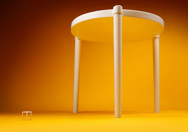 IKEA Creates SÄVA Pizza Table for Hon Kong Pizza Hut