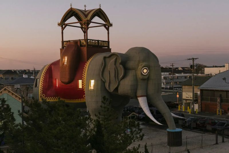 Jersey Landmark Lucy the Elephant Rented on Airbnb for Short-Term Stay