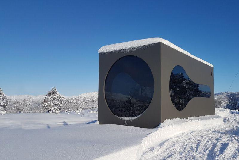 Livit Launches Birdbox Prefab Vacation Cabin to Experience Norwegian Nature Up-Close
