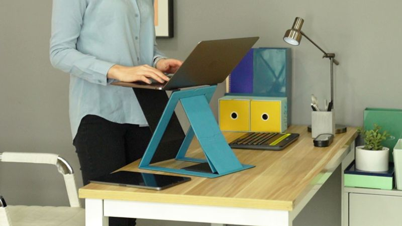 MOFT Z Invisible Sit-Stand Desk is Perfect for Small Home Offices