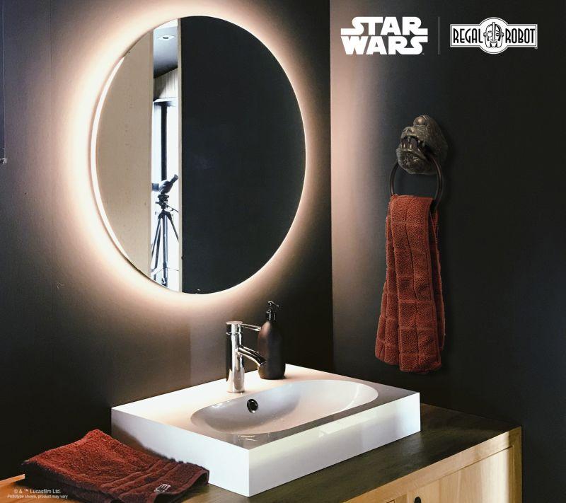 Regal Robot Creates Star Wars Inspired Jabba's Dais Gargoyle Towel Ring